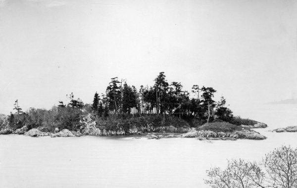 Deadman's Island, ca. 1860 - City of Vancouver Archives