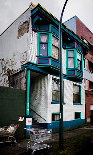 Vancouver prostitution history Alice Bernard had this building built at 514 Alexander Street in 1912 when she moved her operation from Shore Street to the new red light district.