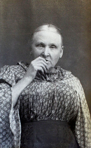 """history prostitution Florence """"Mother"""" Mackenzie, 1899 mugshot. City of Vancouver Archives, VPD series #202, Loc. 37-C-9"""