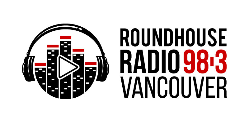 Logo for Roundhouse Radio, 98.3 Vancouver