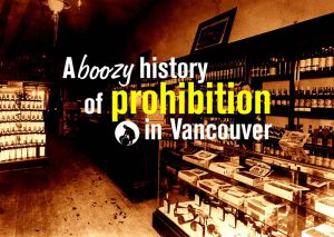 Title image, showing the interior of Urquart's liquor store between 1903 and 1907. City of Vancouver Archives #46-7