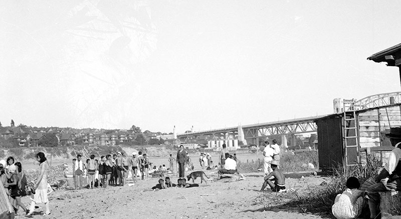Brown Skin Beach, 1932. City of Vancouver Archives #Park N9.5.