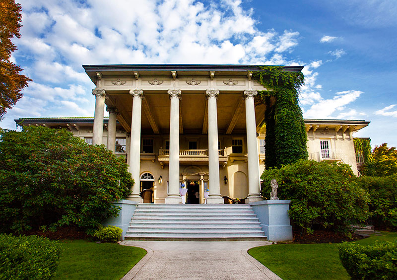 Hycroft Mansion at 1489 McRae Avenue in Shaughnessy. Today this is home to the University Women's Club of Vancouver, but in 1924 it was the home of General AD McRae.