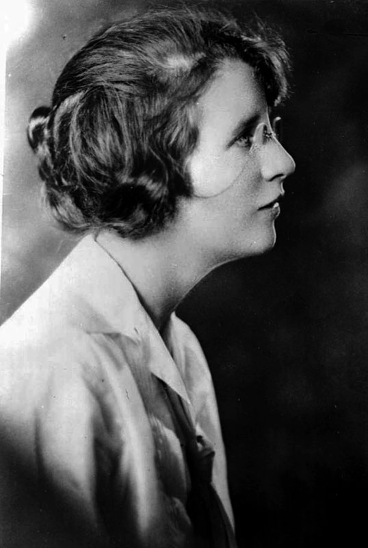 Janet Smith. Portrait by J Howard A Chapman, BC Archives #G-01935.