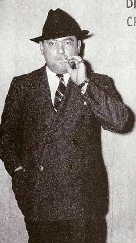 "Mobster Willie ""the Pimp"" Bioff."