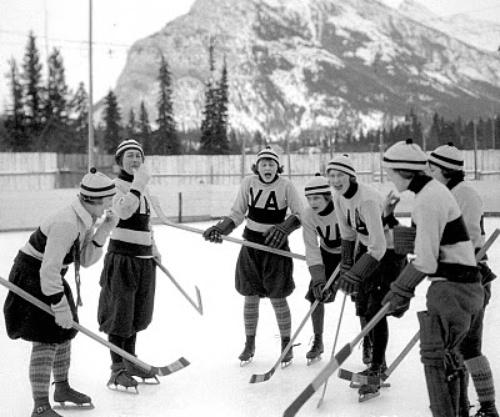 Vancouver women's hockey team - The Amazons