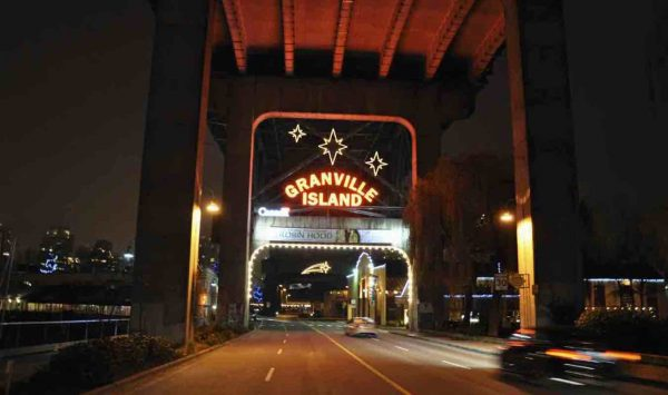 Granville Island Entrance