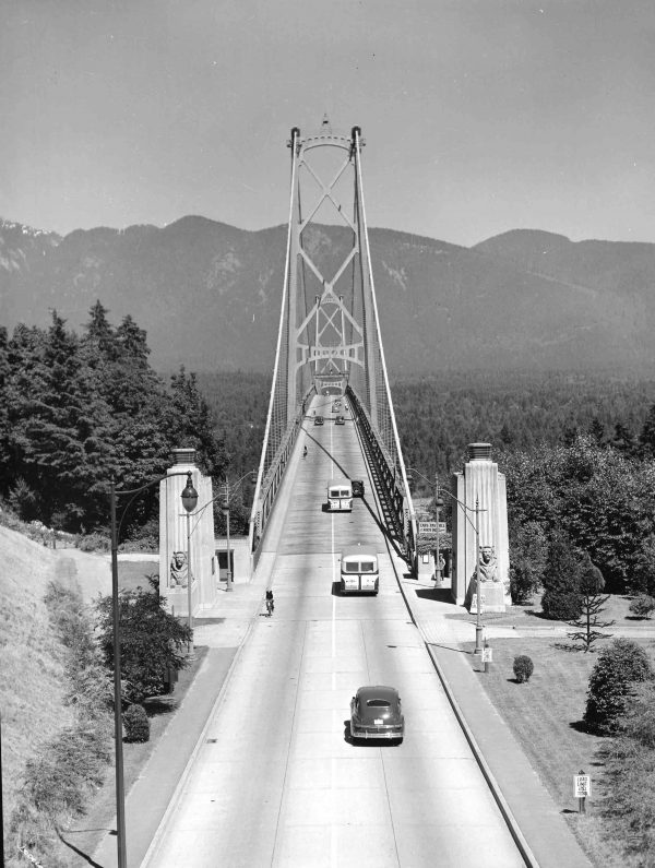 The Lion's Gate Bridge, 1946