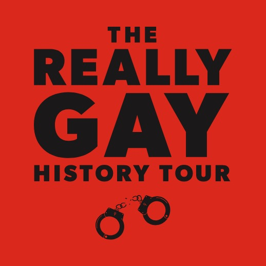Really Gay History Tour square tile