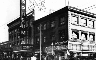 The Orpheum Theatre in 1929. Leonard Frank / Courtesy Vancouver Public Library