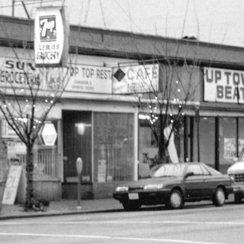 The Top Top Cafe, 1987 - City of Vancouver Archives:  COV-S505-1-: CVA 772-702