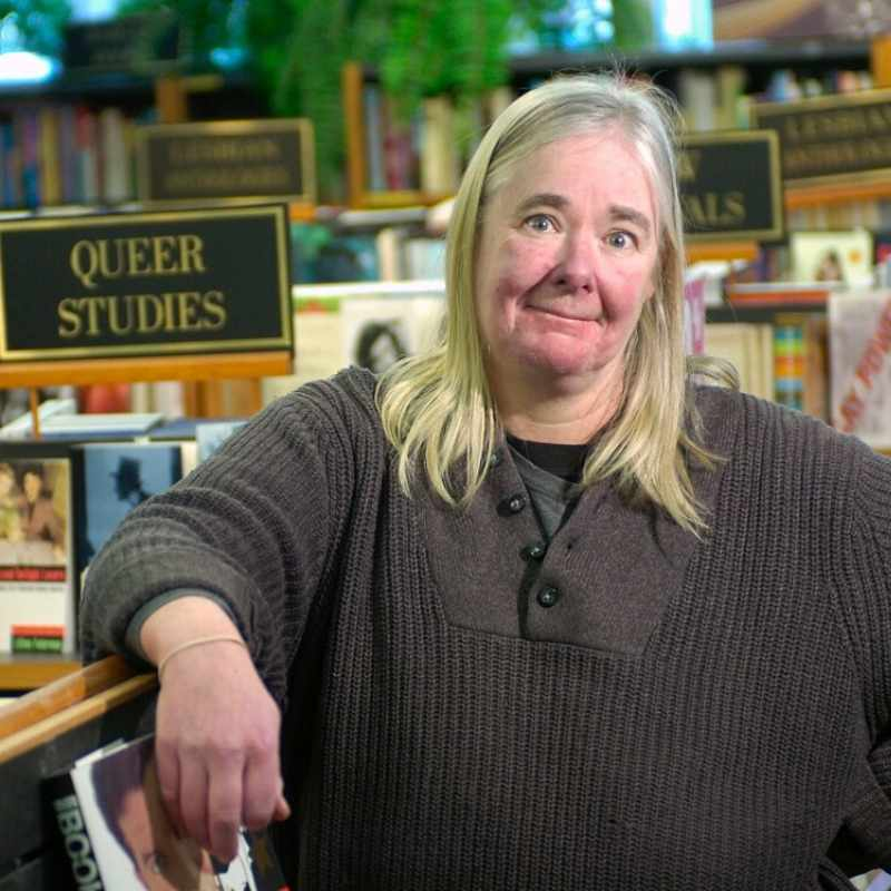 Janine Fuller From Little Sister's - Vancouver Bookstores