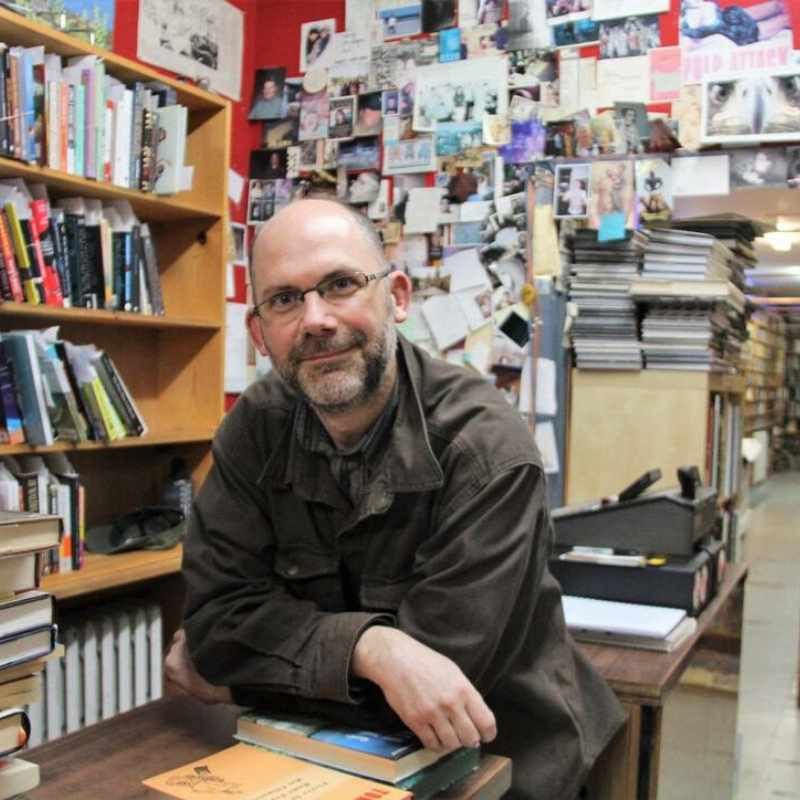 Chris Brayshaw of Pulp Fiction Books - Vancouver Bookstores