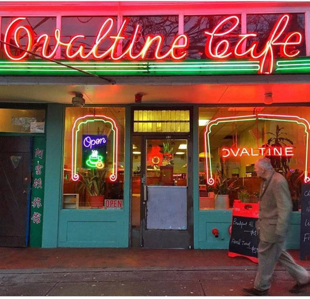 The Ovaltine Cafe Vancouver