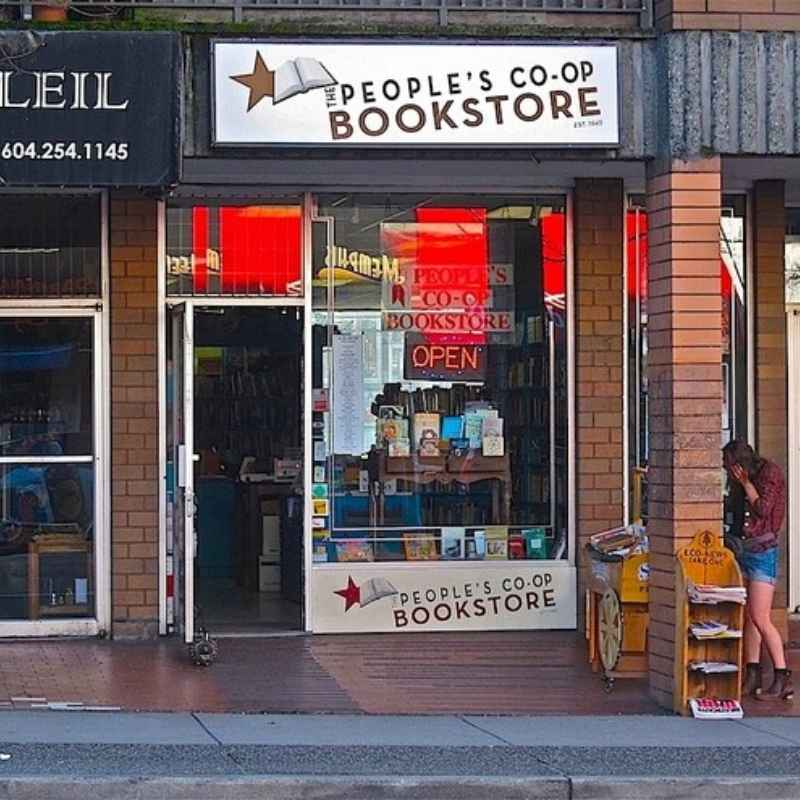 The People's Co-op Bookstore - Vancouver Bookstores