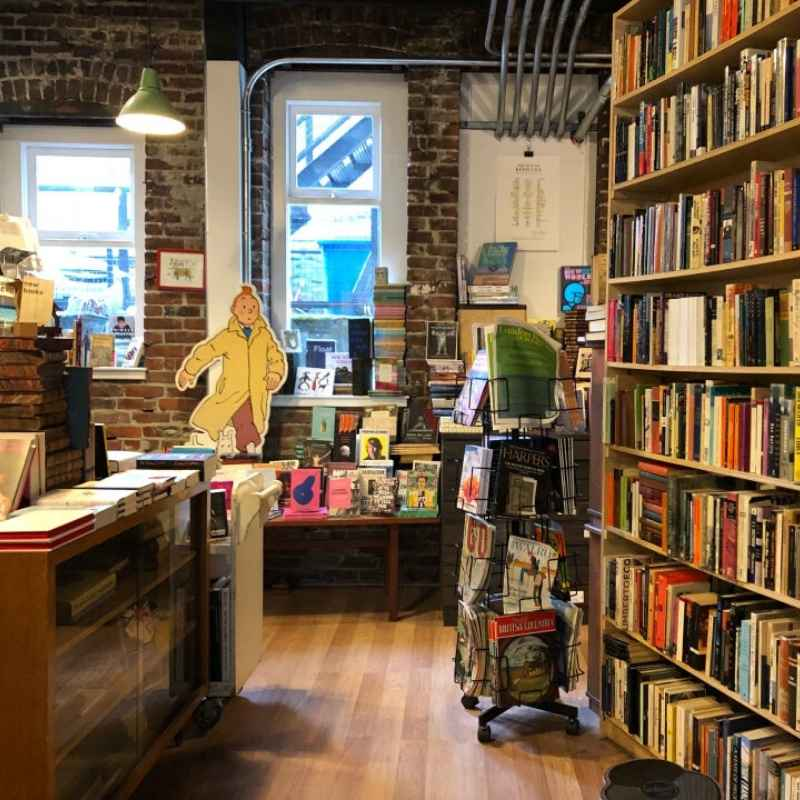 The Paper Hound, on Pender Street - Vancouver Bookstores